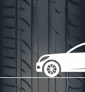 Sebring Reifenprofil mit PKW Piktogramm