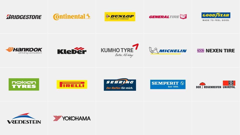 Veľkobchod s pneumatikami IHLE a jeho partneri: Michelin, Continental, Hankook, Nexen, Pirelli a mnoho ďalších