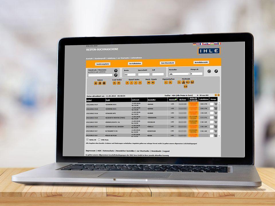 IHLE web áruháza - viszonteladók részére