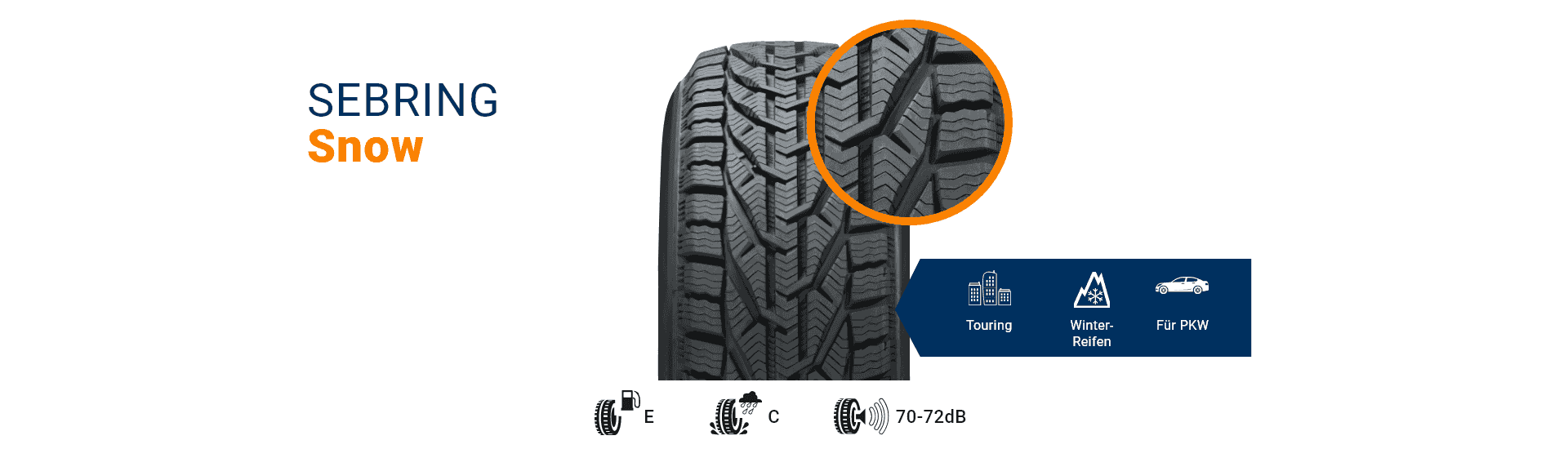 Winterreifen Snow von SEBRING-Tires