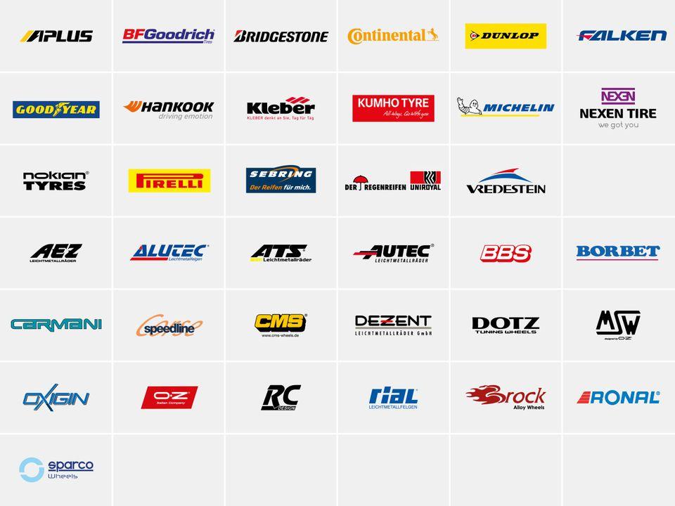 Reifengroßhandel Partner von IHLE: Michelin, Continental, Kleber, Hankook und viele mehr