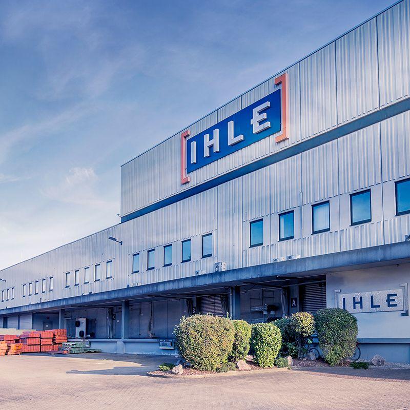 Reifengroßhandel-Zentrale von IHLE in Muggensturm