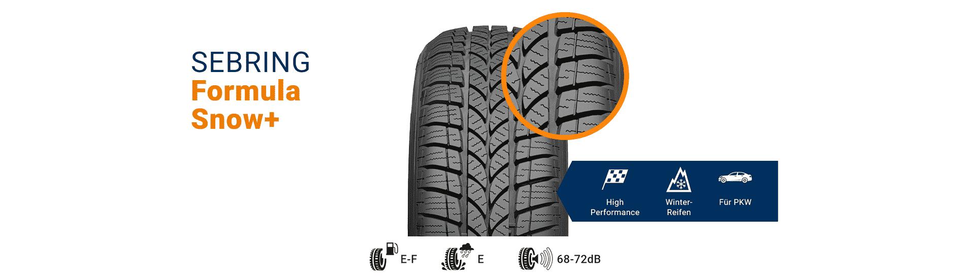 Snow-Reifen für Schnee und Winter