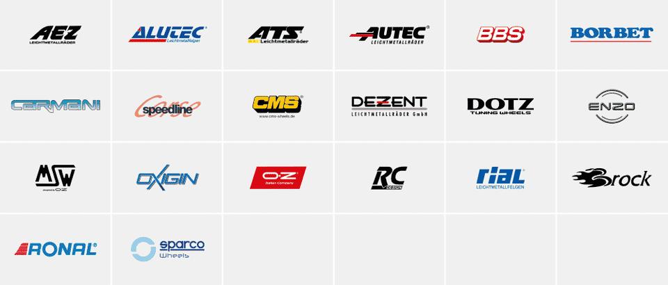 IHLE Felgen Partner: AEZ, CMS, RONAL, DOTZ, AUTEC, ATS und viele mehr