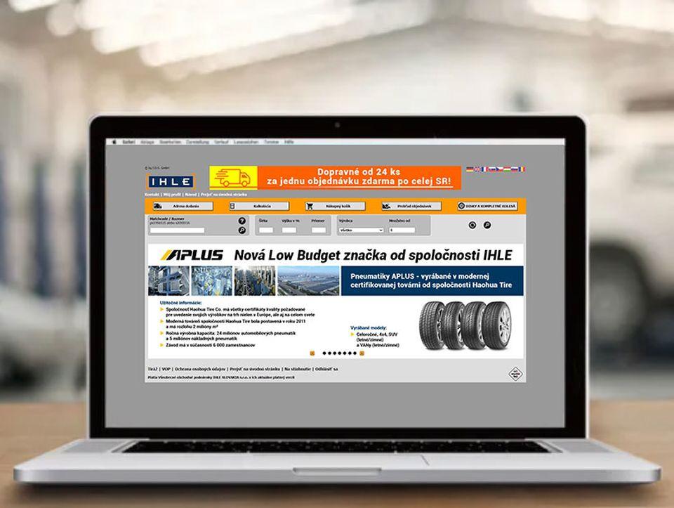 Veľkoobchod s pneumatikami IHLE internetový obchod