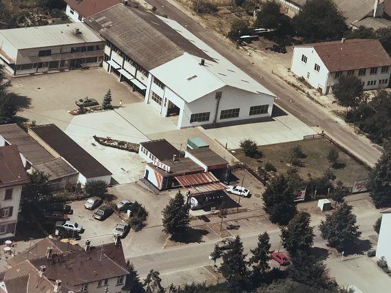 IHLE Reifengroßhändler altes Luftbild
