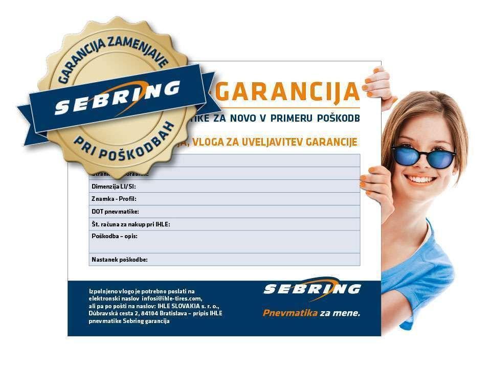 SEBRING-GARANCIJA